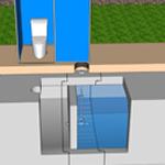レスキュート(雨水貯留槽式災害用トイレ)