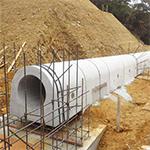 複合型ため池底樋システム