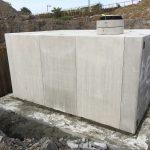 耐震性貯水槽(開削工法)