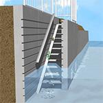 維持管理用階段ブロック工
